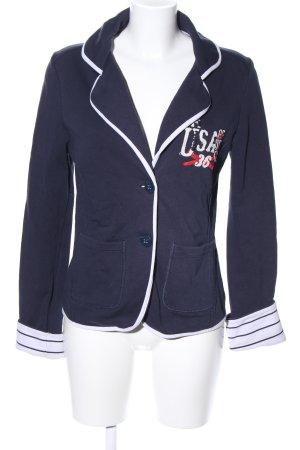 Tommy Hilfiger Blazer in jersey blu stile casual