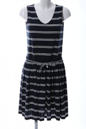 Tommy Hilfiger Jersey Dress black-white striped pattern casual look
