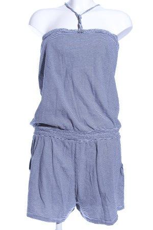 Tommy Hilfiger Jumpsuit blau-weiß Streifenmuster Casual-Look