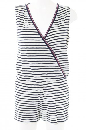 Tommy Hilfiger Jumpsuit Streifenmuster Casual-Look