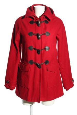 Tommy Hilfiger Manteau à capuche rouge style décontracté