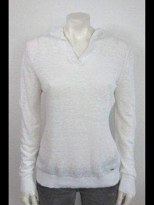 Tommy Hilfiger Capuchon sweater wit