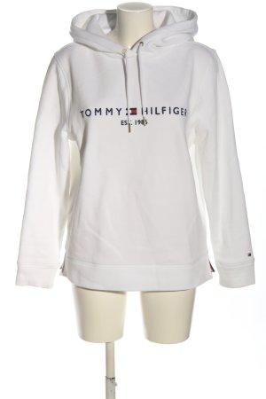 Tommy Hilfiger Kapuzensweatshirt weiß-blau Casual-Look