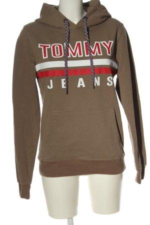 Tommy Hilfiger Kapuzensweatshirt Schriftzug gedruckt Casual-Look
