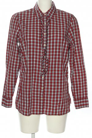 Tommy Hilfiger Checked Blouse red-white allover print casual look
