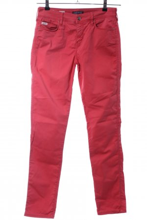Tommy Hilfiger Karottenhose rot Casual-Look