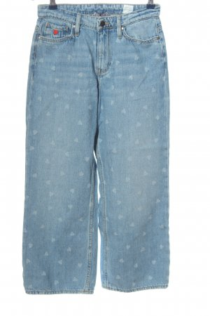 Tommy Hilfiger Carrot Jeans blue allover print casual look