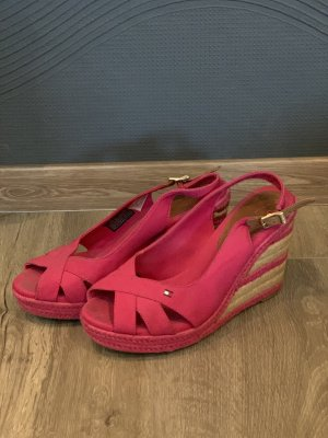 Tommy Hilfiger Wedge Pumps pink