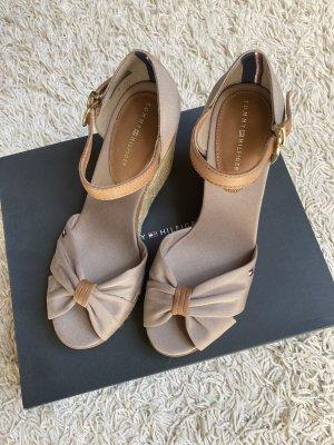 Tommy Hilfiger Platform High-Heeled Sandal cream-beige