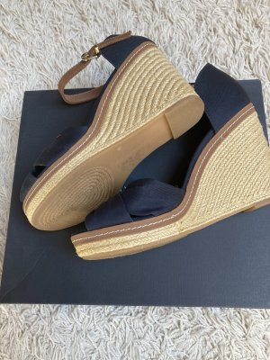Tommy Hilfiger Platform High-Heeled Sandal dark blue-cream