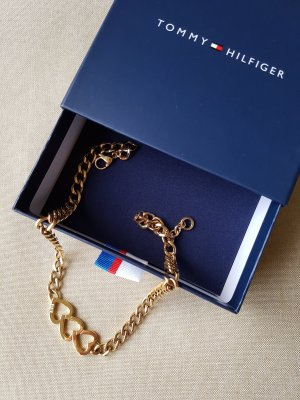 Tommy Hilfiger Necklace gold-colored stainless steel