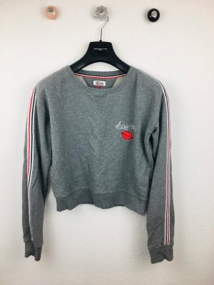 Tommy Hilfiger Kiss Me Cropped Crew Neck Sweater Gr. S