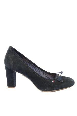Tommy Hilfiger Zapato Tacón negro estilo «business»