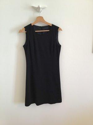 Tommy Hilfiger Vestido de lana negro
