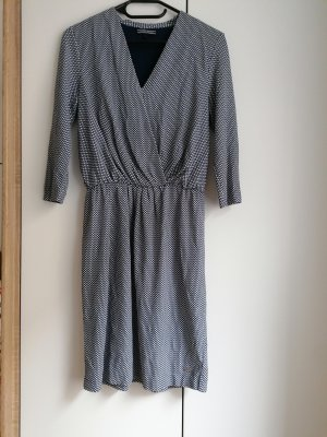 Tommy Hilfiger Kleid Abendkleid XS 34 blau weiß Muster