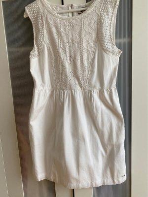 Tommy Hilfiger Denim Balloon Dress white