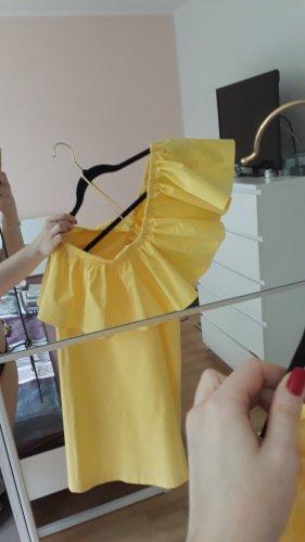 Tommy Hilfiger Kleid, Gelb, Größe M/10, Neu, Baumwolle