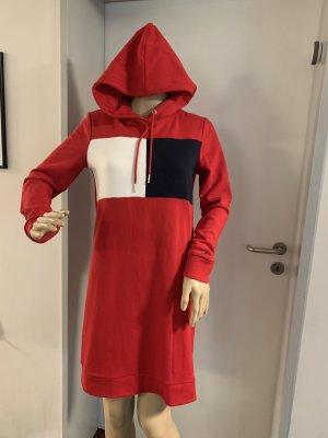 Tommy Hilfiger Sweat Dress dark red-dark blue