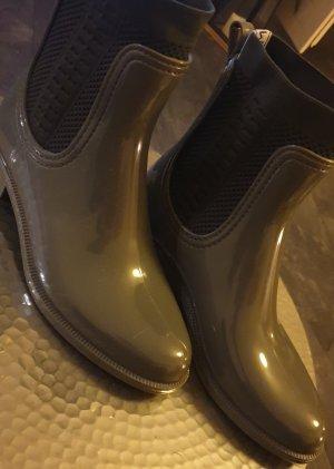 Tommy Hilfiger Wellington laarzen olijfgroen