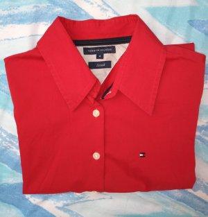 Tommy Hilfiger Camicia blusa rosso neon