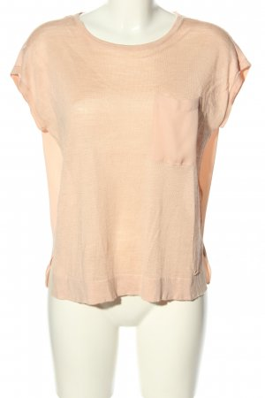 Tommy Hilfiger T-Shirt nude Streifenmuster Casual-Look