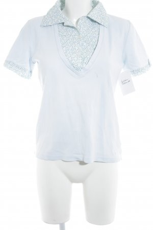 Tommy Hilfiger Kurzarm-Bluse Blumenmuster Casual-Look