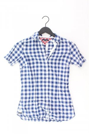 Tommy Hilfiger Kurzarmbluse Größe US4 blau aus Baumwolle