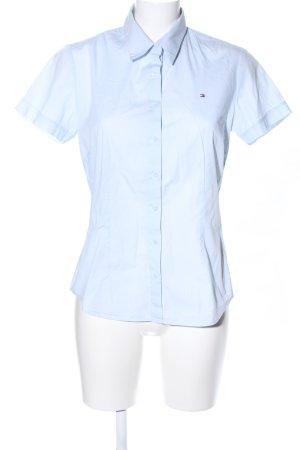Tommy Hilfiger Camisa de manga corta azul estilo «business»