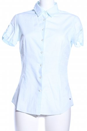 Tommy Hilfiger Short Sleeve Shirt blue check pattern casual look