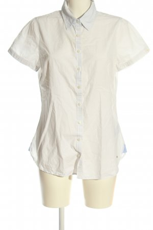 Tommy Hilfiger Koszula z krótkim rękawem biały W stylu biznesowym