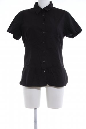 Tommy Hilfiger Short Sleeve Shirt black business style