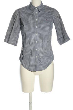 Tommy Hilfiger Chemise à manches courtes noir-blanc motif à carreaux