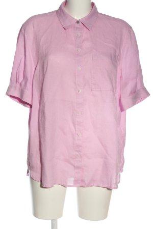 Tommy Hilfiger Chemise à manches courtes rose style décontracté