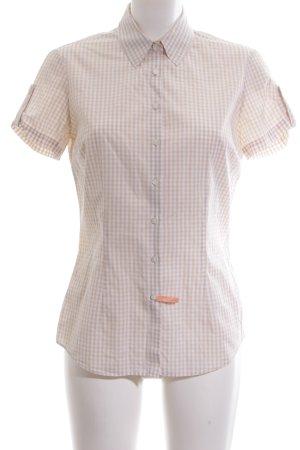 Tommy Hilfiger Camicia a maniche corte bianco sporco-bianco motivo a quadri