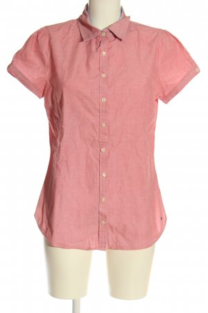 Tommy Hilfiger Koszula z krótkim rękawem różowy Melanżowy W stylu casual