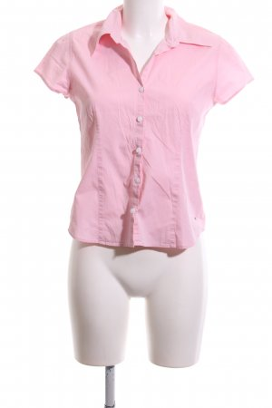 Tommy Hilfiger Kurzarmhemd pink Business-Look