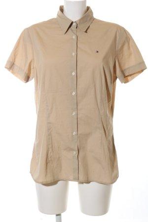 Tommy Hilfiger Shirt met korte mouwen wolwit casual uitstraling