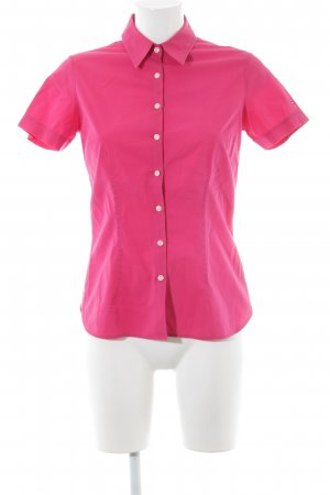 Tommy Hilfiger Kurzarmhemd magenta Business-Look