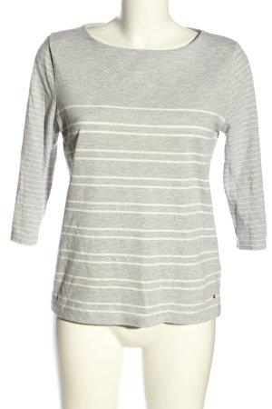 Tommy Hilfiger Camicetta a maniche lunghe grigio chiaro-bianco puntinato