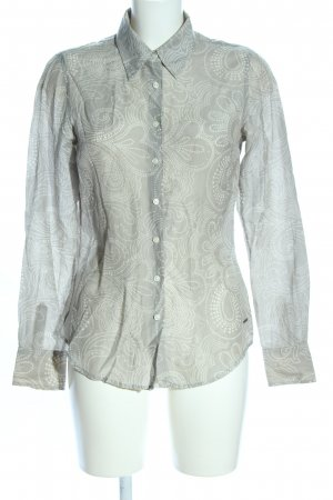 Tommy Hilfiger Long Sleeve Blouse light grey-white abstract pattern