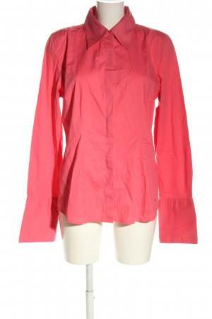 Tommy Hilfiger Langarm-Bluse pink Business-Look