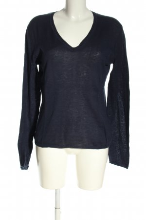 Tommy Hilfiger Langarm-Bluse schwarz Casual-Look