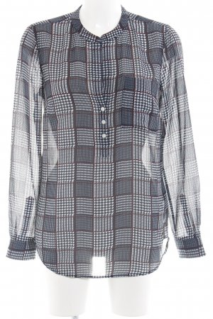 Tommy Hilfiger Langarm-Bluse abstraktes Muster Casual-Look