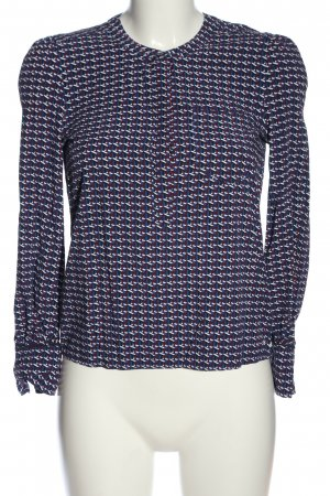 Tommy Hilfiger Langarm-Bluse Allover-Druck Business-Look