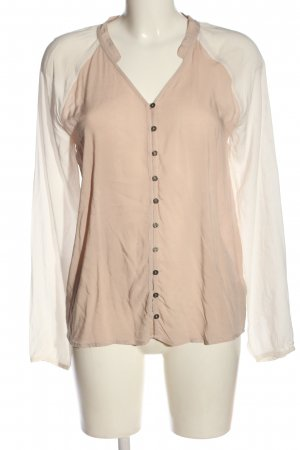 Tommy Hilfiger Langarm-Bluse nude-creme Casual-Look