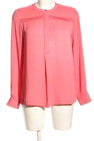 Tommy Hilfiger Langarm-Bluse pink Business-Look