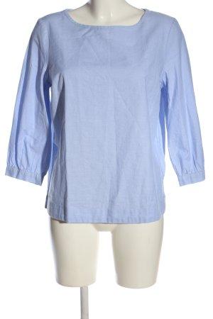 Tommy Hilfiger Langarm-Bluse blau Casual-Look