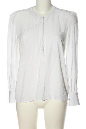 Tommy Hilfiger Langarm-Bluse weiß Elegant