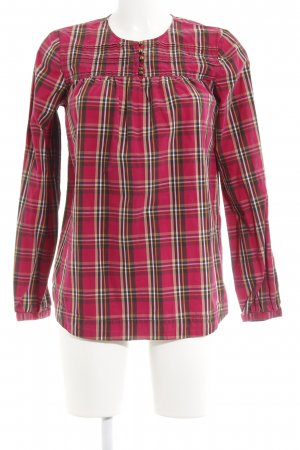 Tommy Hilfiger Langarm-Bluse Karomuster Casual-Look