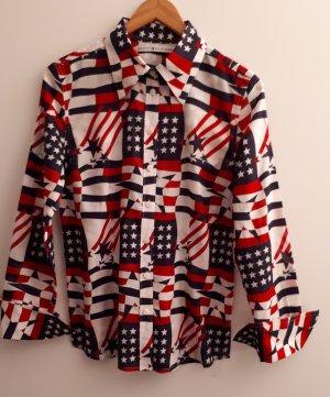 Tommy Hilfiger Shirt Blouse multicolored cotton